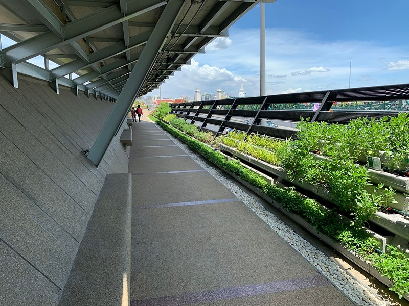 Sky Bridge covered section