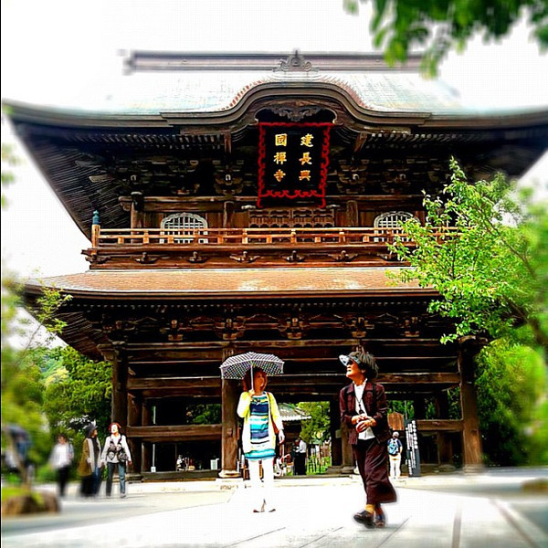 Kencho-ji zen temple - Kamakura, #Japan #dna2japan