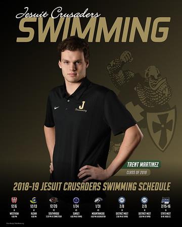 Swimming (Senior Portraits)