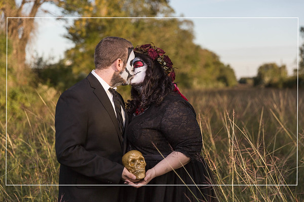Chic Halloween Photo Session in Houston Texas