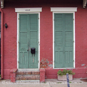French Quarter Doors and Windows - SQUARE