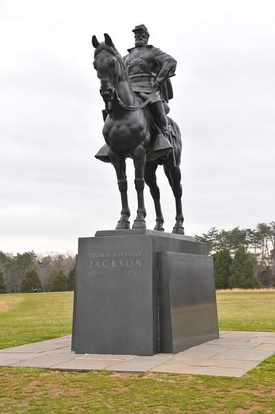 Stonewall Jackson Monument, Bull Run, Manassas, VA
