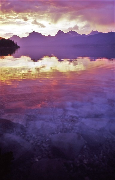 GNP Lake McD reflection sunrise.jpg