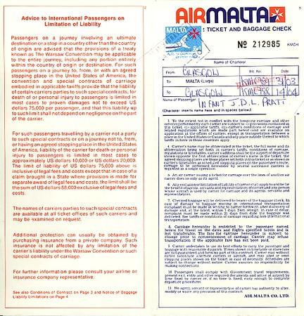 Malta documents