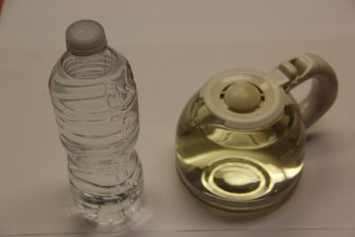 Yellow Tap Water from Iron, Tamaqua (1-30-2013)