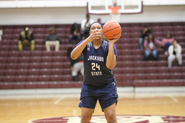 JSU Lady Tiger BB @ Bama A&M 2017