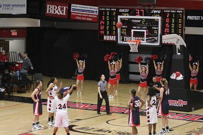 Womens Basketball vs Liberty