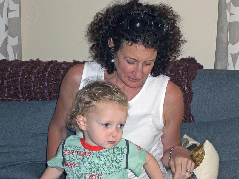 Karl and Auntie Aliza