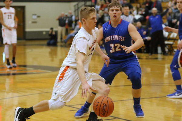 13 Boys Basketball:  Northwest at Wheelersburg 2018