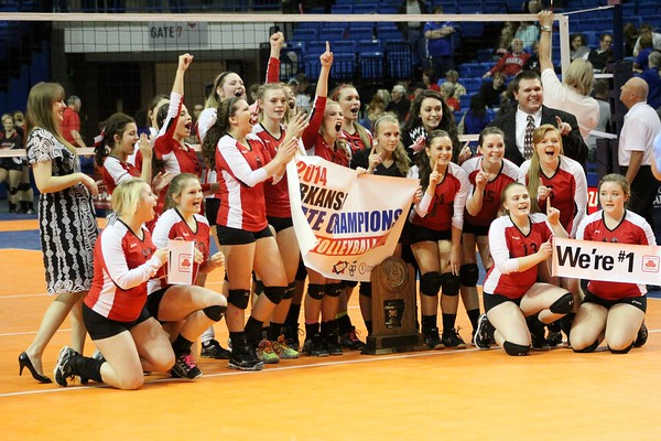 3A STATE VOLLEYBALL CHAMPIONS