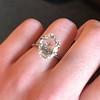 2.32ct Flat Oval Shape Diamond GIA J SI1 26