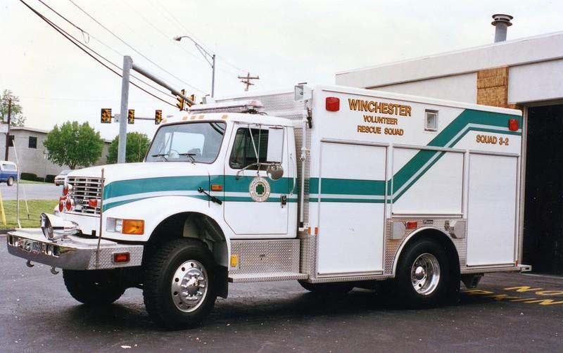 Winchester Rescue Squad (retired)