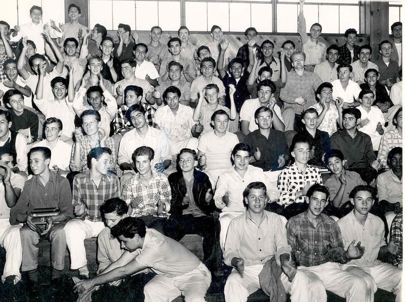 1949, Basketball Rally