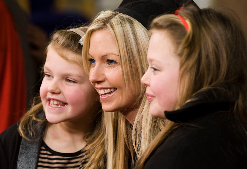 6/1/2012. News. Free to use image. Waterford Institute of Technology (WIT) conferring ceremony. Pictured is Ann Marie Walsh, Waterford who graduated with a Bachelor of Arts (Honours), also pictured are her daughters Megan and Kelsey. Photo Patrick Browne