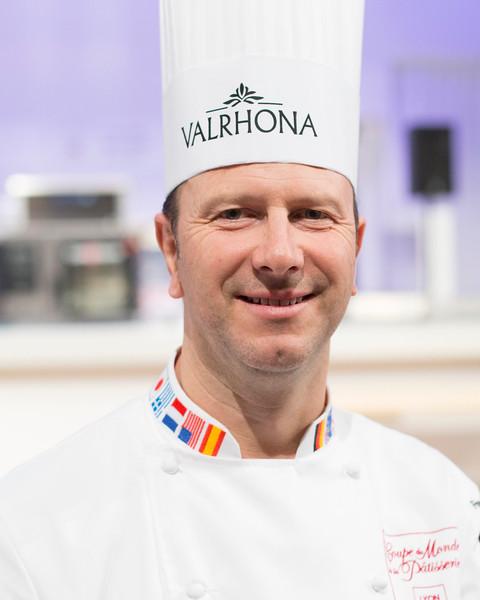 Marc Rivière, champion du monde de pâtisserie 2009 et aussi Président de la sélection France lors du championnat du monde de pâtisserie 2017
