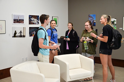 Art Student Juried Exhibition Opening