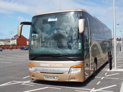 Blackpool Coach Parks 17-04-2016