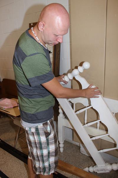 Helping Fire Victims, Eric Becker, Salvation Army, Tamaqua, 8-6-2011 (1).JPG