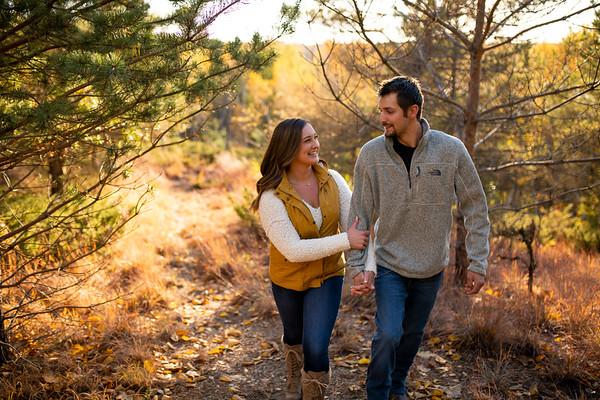 Larissa + Zach | Camp Northern Lights Engagement Session