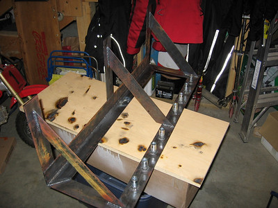 Air Tool Shelf