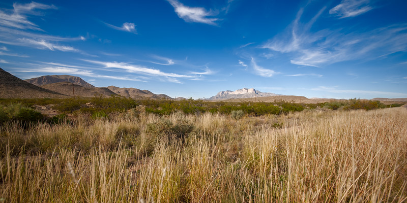 GUADALUPE MOUNTAIN NATIONAL PARK - TEXAS