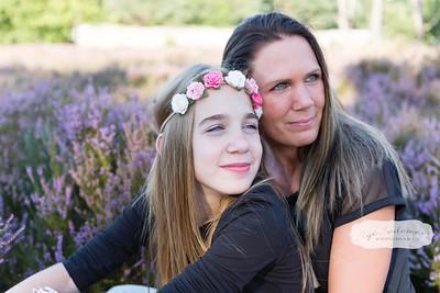 Romantische gezinsfotografie - Soest