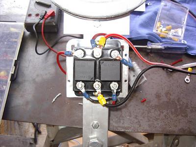 Reversing relay control for Shorestation 12 volt lift motors