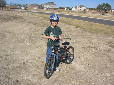 Dylan Learns to Ride a Bike