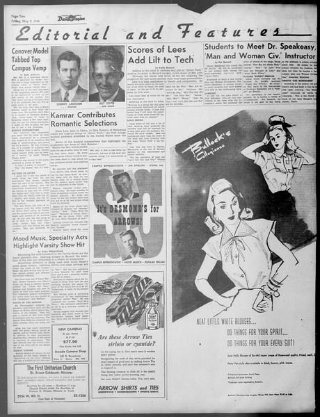 Daily Trojan, Vol. 37, No. 120, May 03, 1946