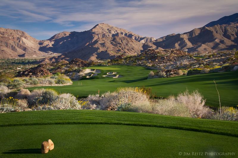 18th hole - Stone Eagle Golf Club, Palm Desert, CA