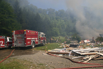 Jackson Corners Road House Explosion - August 31, 2008