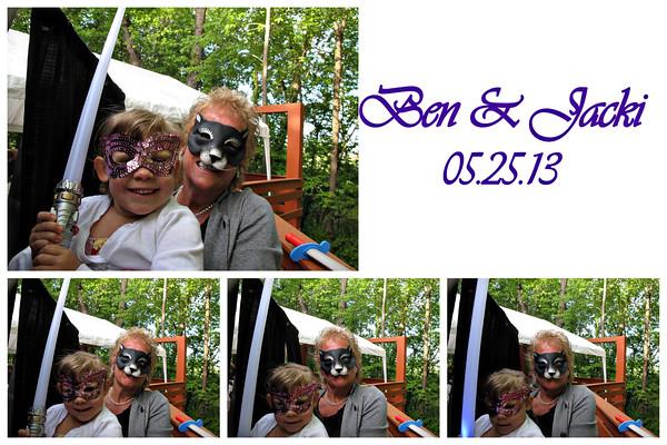 Jacki & Ben Wedding Photo Booth