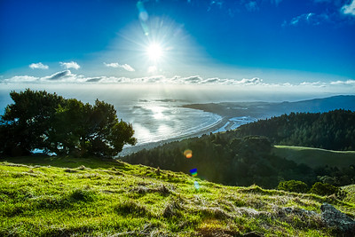 Marin County, Mt Tam, and Stinson Beach