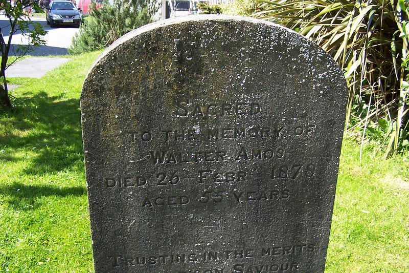 St. Nicholas' Church tombstone