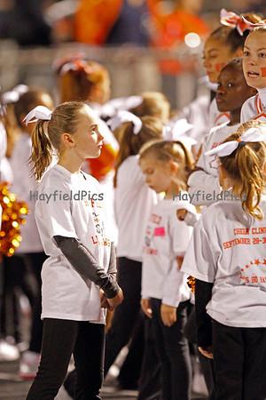 Cheerleaders Centreville 9/30/11
