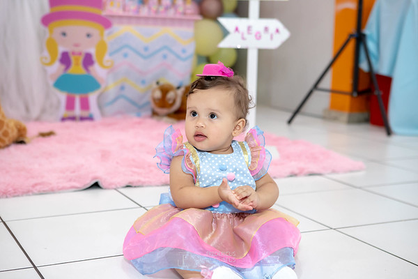 Aniversário Maria Fernanda de 1 ano