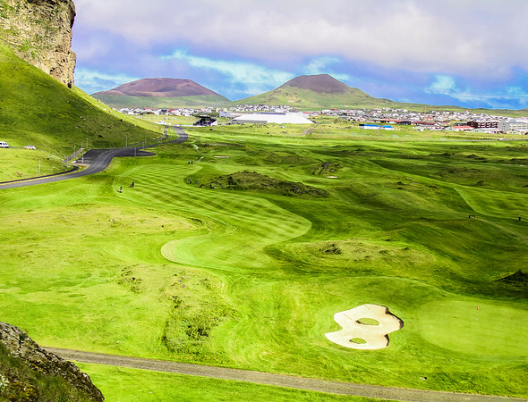 Vestman Islands golf course