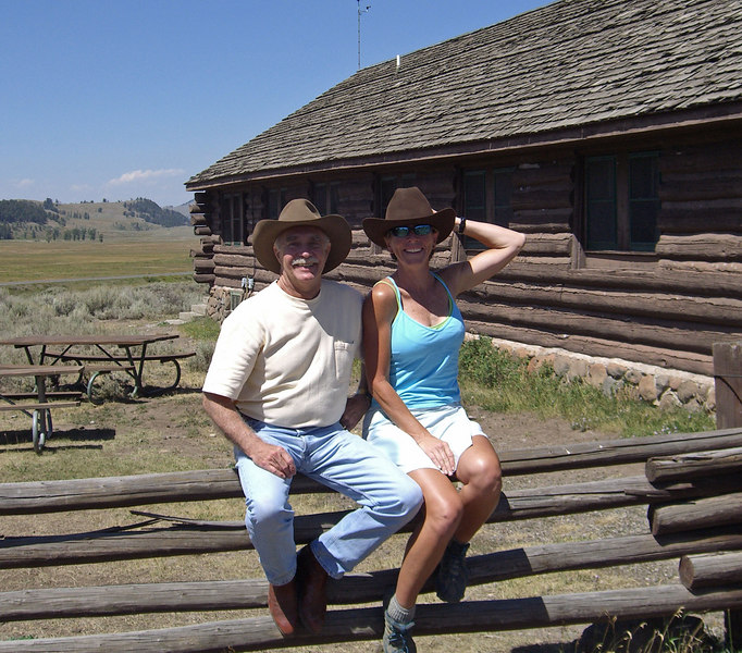 at Buffalo Ranch with Rodger Schlickeisen, President and CEO,  Defenders of Wildlife