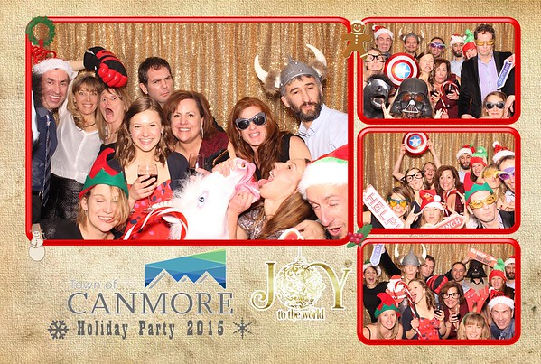 Town of Canmore Holiday Party 2015