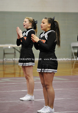 Big 8 Competitive Cheer Competition 1-21-2013