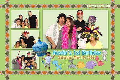 Austin's 1st Birthday (Multi-Photo Collage)