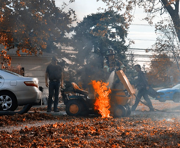 Lawnmower fire - Palo Alto Drive Henrietta, NY - 11/5/20