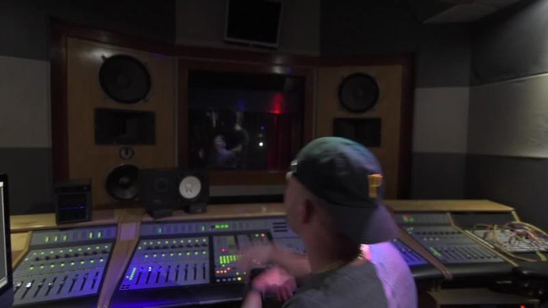 Conkarah in Studio