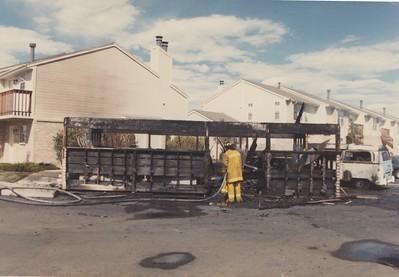 2696 E. Otero Ave Arson Fire