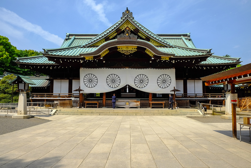 Main Hall of Yasukuni-jinja Shrine