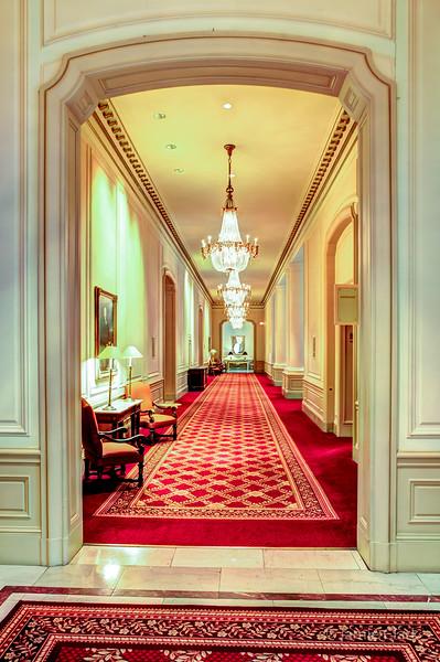 Hallway. Palace Hotel