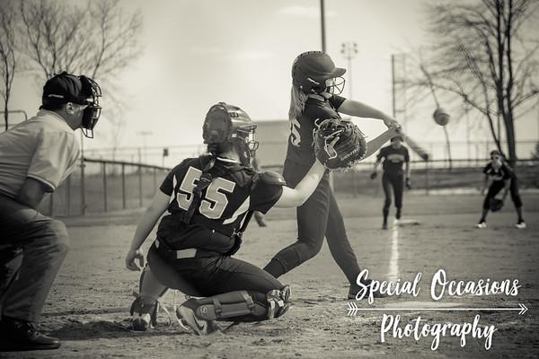 Delano 7th Grade Softball - 04-26-18