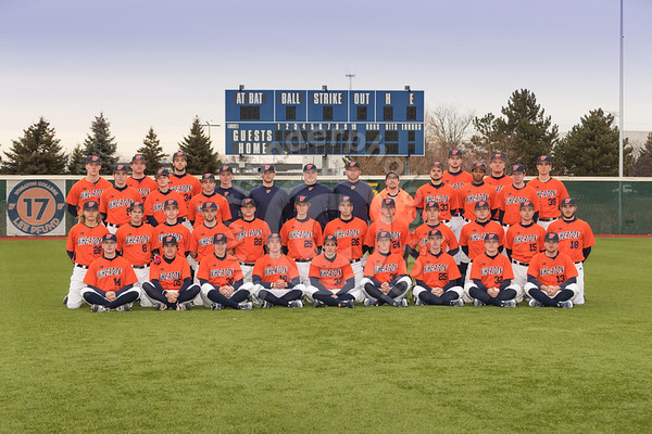 Wheaton College 2018 Baseball Team