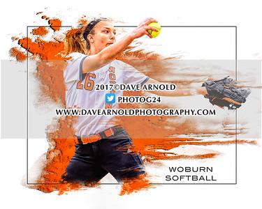 5/24/2017 - Varsity Softball - Woburn vs Arlington