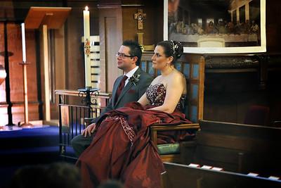 Sarah & Duane - Royal Russell Chapel